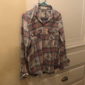 Southwestern Vintage Flannel